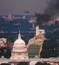 U.S. Counter-Counterterrorism Unit Successfully Destroys Washington Monument